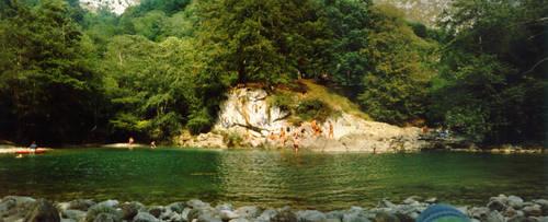 Olla San Vicente, Dobra river by countach