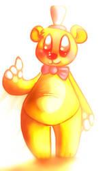 Goldie Bear by graceofireland