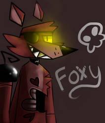 Foxy Yiffer by graceofireland