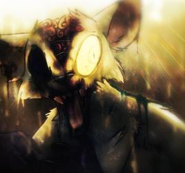 Zombie Kitty by graceofireland