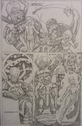 Galactus and his Heralds - page 2 by CWmaxWorld