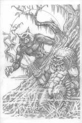 Werewolf vs Predator by CWmaxWorld