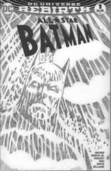 BATMAN on Comic Blank by CWmaxWorld