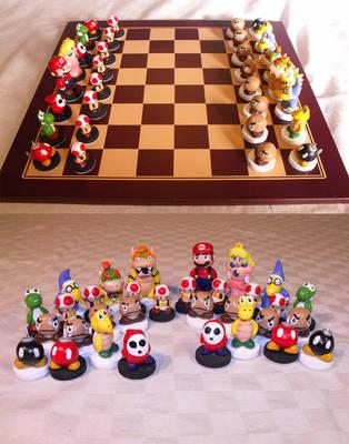 Nintendo Chess Set by Suntro