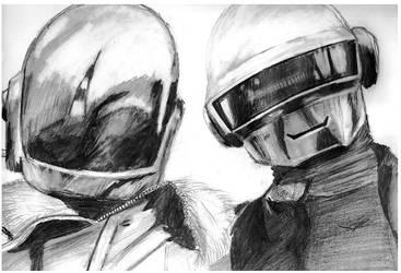 Daft Punk by Suntro