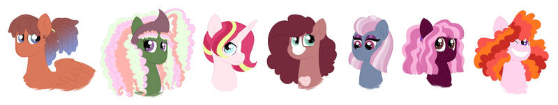 Party Pony Squad by QueenDerpyTurtle