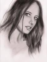 Eva Green by harrynotlarry