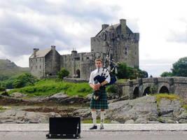 Scotland, Eilean Donan Castle2 by elodie50a