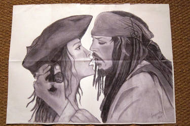 Jack + Me signed Johnny Depp by elodie50a