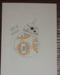 BB-8 Star Wars - Force Awaken by Cravee