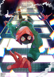 Spider-Man: Into The Spider-Verse - Changing Point by DairyPanda