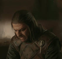 Game of Thrones - Lord Stark by DaaRia