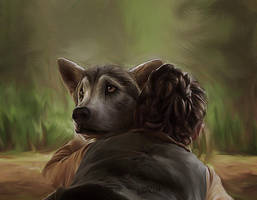 Game of Thrones - Nymeria by DaaRia
