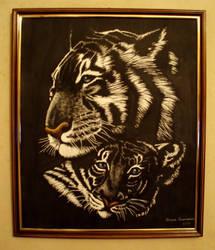 tigers by Dianaoneinamillion