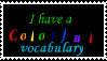 Colorful vocabulary by WingsOfTheWicked