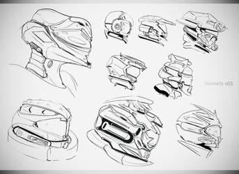 Helmetsv01 by gamka