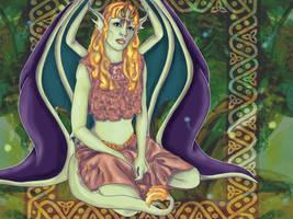 Celtic Protector by purplegoldfish