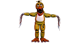 Withered Chica V1 by Maximo-Breaker