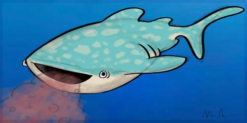 Whale Shark by XxBlue-MoonxX