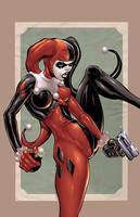 Harley Quinn by DashMartin