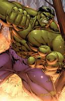 Incredible Hulk by DashMartin