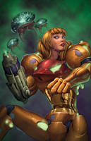 Samus by DashMartin