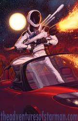 Starman Arrives on Mars by DashMartin