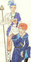 Tasuki and Chichiri by tomatofruit