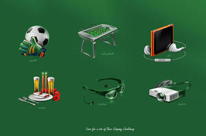 Icons for Carlsberg by st-valentin