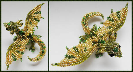 Dragon brooch v3 by Rrkra