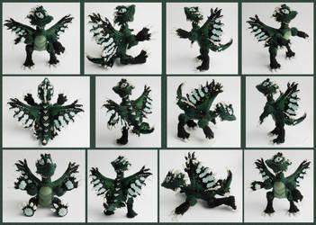 Green dragon by Rrkra