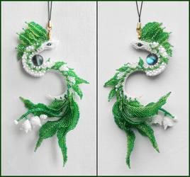 Flower dragon by Rrkra