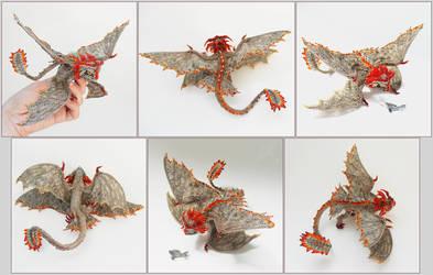 Four wings rawr by Rrkra