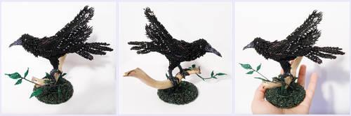 Black bird by Rrkra