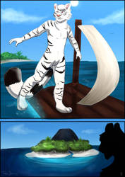 Tokos Journey Page 1 by CynthiaFeline