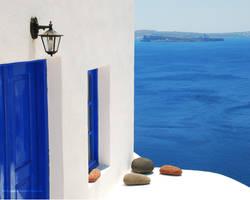 Minimalistic Greece 1 by derSchnaps