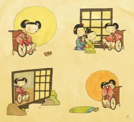 Adventures of Crippled Geisha by boum