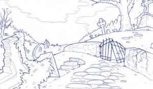 Errand in the graveyard by boum
