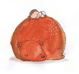 Bear Snooze by boum