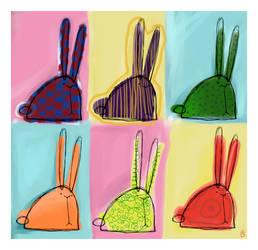 Bunny Warhol by boum