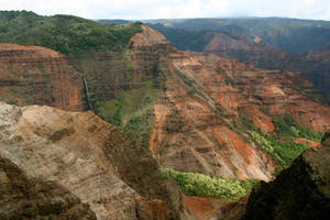 Waimea Canyon Waterfall by CursiveQ-Designs