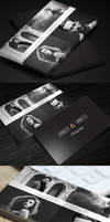 PhotographerBusinessCard v3 QuadPix preview long by CursiveQ-Designs