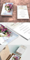 Wedding Photographer Business Card Template by CursiveQ-Designs