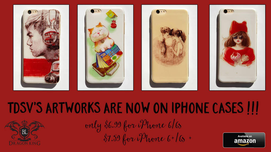 My Artworks are now on IPHONE CASES by tuyetdinhsinhvat