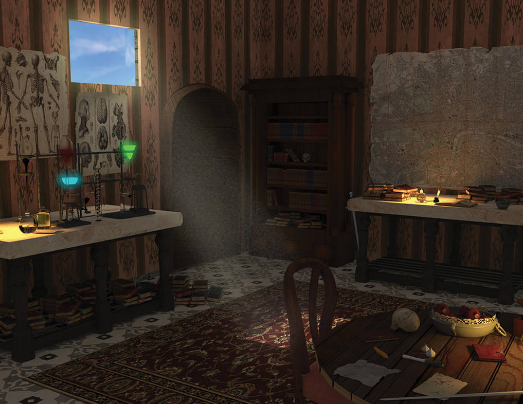 A Room Fit For An Archer: 3D Alchemy Room By Neo-Archer On DeviantArt