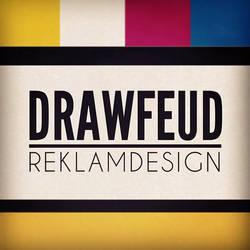 Drawfeud Reklamdesign logotype by drawfeud