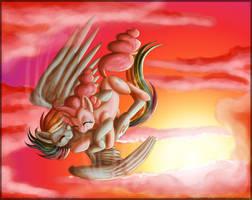 Sky Hug by InuHoshi-to-DarkPen