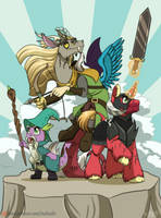 Dungeon Warriors by InuHoshi-to-DarkPen