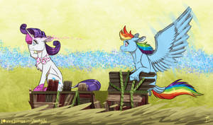 On the Search Through the Swamp by InuHoshi-to-DarkPen