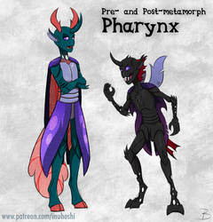 'Humanized' Pharynx Design by InuHoshi-to-DarkPen